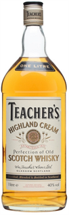 Teacher's Scotch Highland Cream 750ml